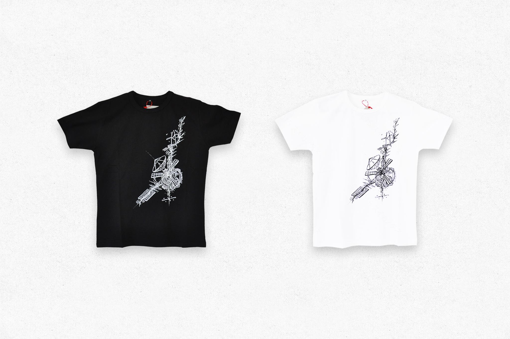 T-shirtのグラフィックのデザイン