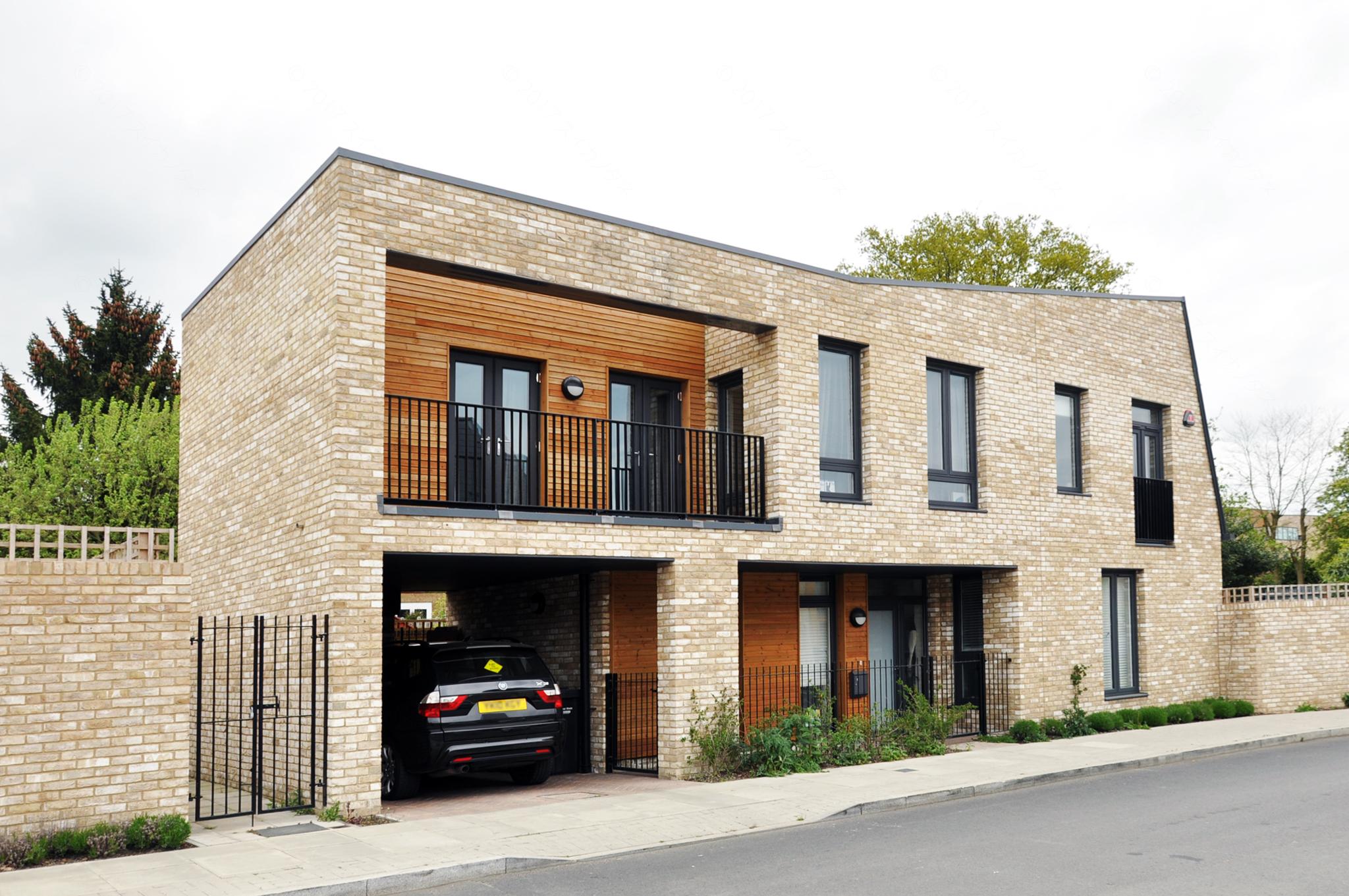 ロンドンの個人住宅の建築設計