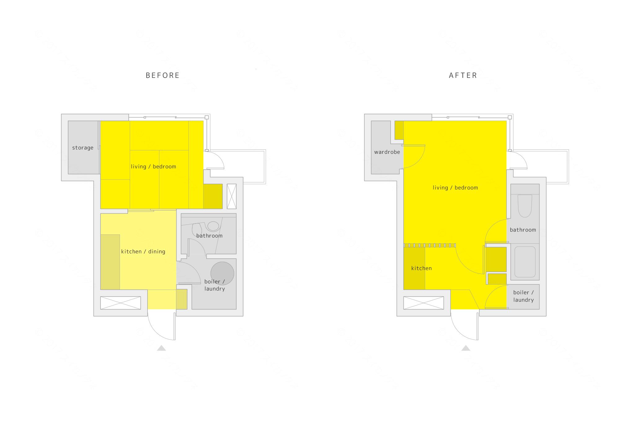 新潟市、マンションのリノベーション、改装の建築設計